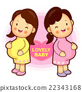 Pregnant womens meeting. Pregnant Character 22343168