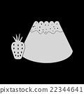 Flat in black and white Bun with strawberri 22344641