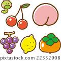 과일 일러스트 소재 세트 3 22352908