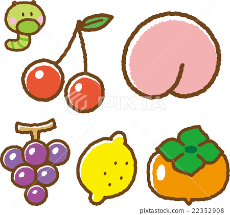 水果 吃甘蓝菜的害虫 菜虫 22352908
