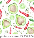 watercolor pattern illustration 22357124