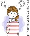 ภาพประกอบของผู้หญิงที่มีข้อสงสัย 22363442