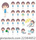 bathing, suit, swimming 22364652