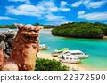 kabira bay, ishigakijima, blue water 22372590