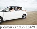 一個女人享受旅行 22374293