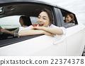 一個女人享受旅行 22374378