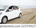 一個女人享受旅行 22374427