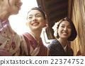 女性 小巷 觀光 22374752