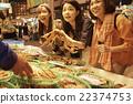 女性 蟹 螃蟹 22374753