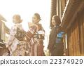 女性 转弯 东茶屋街 22374929