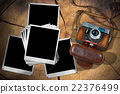 Old Camera and Instant Photo Frames 22376499