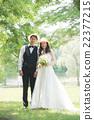 婚禮 新郎新娘 翠綠 22377215