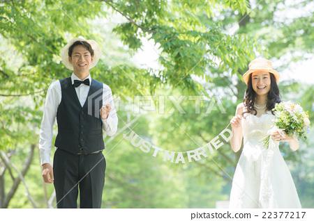 婚禮 夫婦 一對 22377217