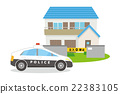 事件 警車 巡邏車 22383105