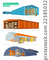 Concept Infographics Equipment Warehouse 22385032