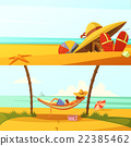 banner, set, holiday 22385462