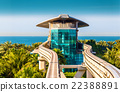 Atlantis Monorail station in Dubai - UAE 22388891