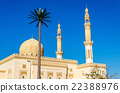 View of Zabeel Mosque in Dubai, UAE 22388976