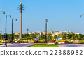 Garden near Zabeel Palace in Dubai, UAE 22388982