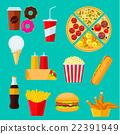 食物 食品 汉堡 22391949