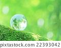 地球仪 翠绿 鲜绿 22393042