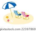 海滩 太阳伞 阳伞 22397869