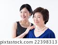 여성, 공식적, 미소 22398313