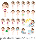 bathing, suit, swimming 22398711