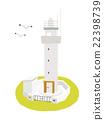 矢量 建築 觀景平台 22398739