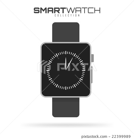 Smart watch Isolated on white background for your 22399989