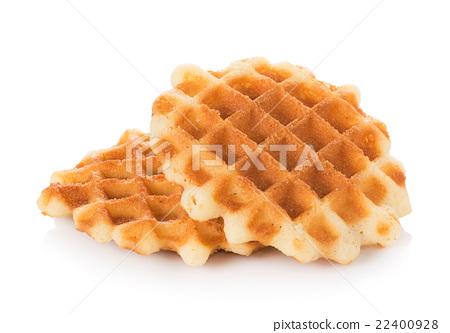waffles isolated on white background 22400928