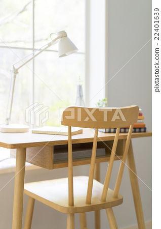 Window desk and chair 22401639