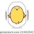 幼鳥 跳繩 跳 22402042