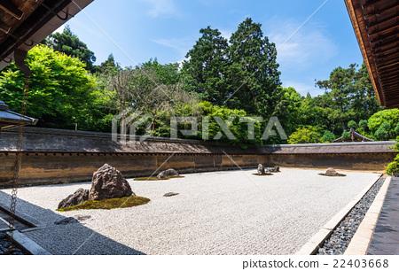 京都世界遗产Ryoan寺 22403668