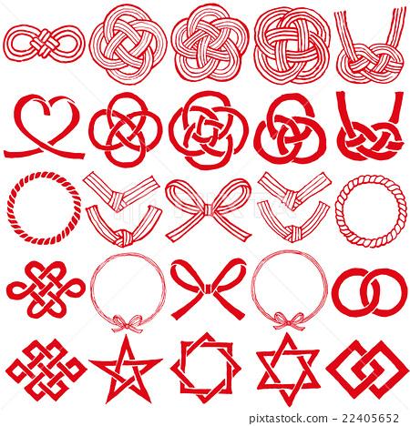 水领带图标25种手写的插图 22405652