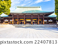 Meiji Shrine in Tokyo, Japan 22407813