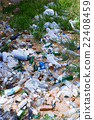 Unauthorized garbage landfill 22408459