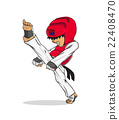 Taekwondo. Martial art 22408470