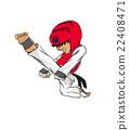 Taekwondo. Martial art 22408471