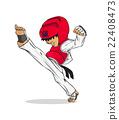 Taekwondo. Martial art 22408473