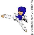 Taekwondo. Martial art 22408476