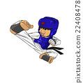Taekwondo. Martial art 22408478