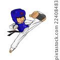 Taekwondo. Martial art 22408483