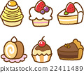 confectionery, cake, cakes 22411489