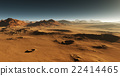 Dust on Mars. Sunset on Mars. 22414465