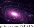 Purple galaxy.  22414474