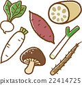 vegetables, vegetable, materials 22414725