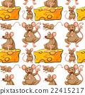 動物 花紋 圖樣 22415217