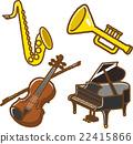 器具 儀器 樂器 22415866