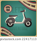 classic scooter poster 22417113